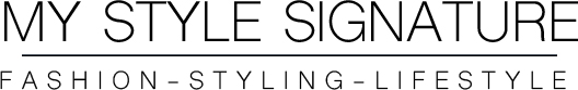 My Style Signature - MyStyleSignature.nl – Blog over Fashion, Beauty, Lifestyle, DIY, Food, Interior & Travel by Frederique Schenkels